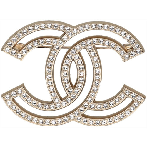 divers styles promotion spéciale remise spéciale de Chanel Brooch in Gold - Second Hand Chanel Brooch in Gold ...