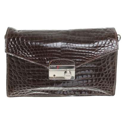 Prada Handtasche mit Braun