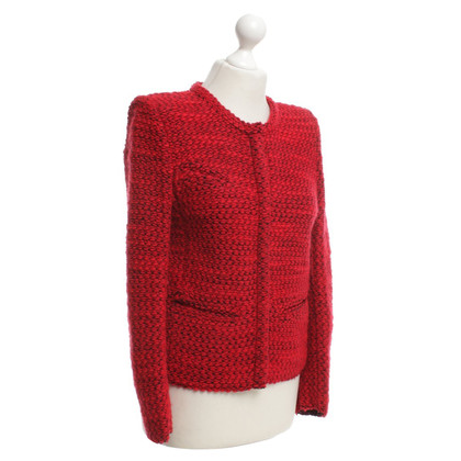 Iro Cardigan in red
