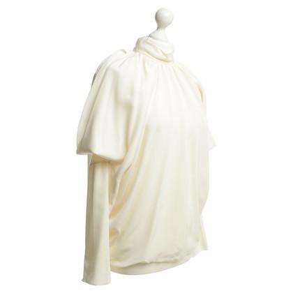 Derek Lam Zijden blouse in crème