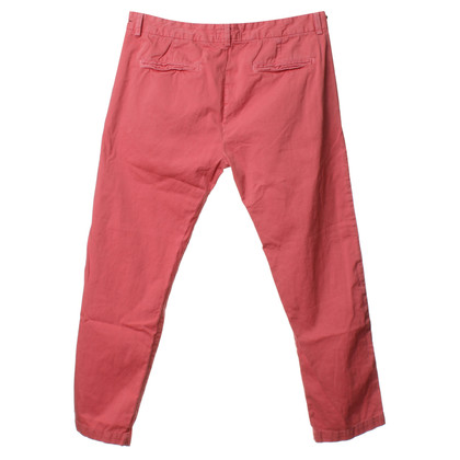 Current Elliott Pants in coral red