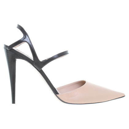Pura Lopez pumps in nude/zwart