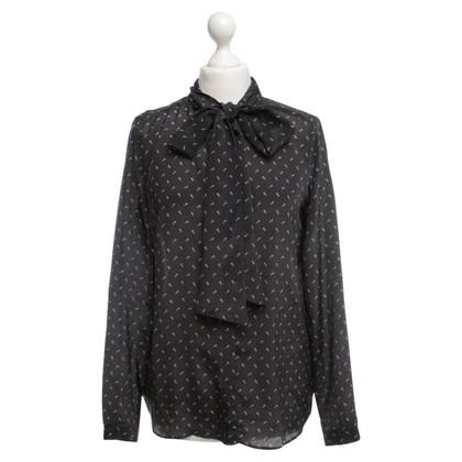 Andere merken 0039 Italië - zijden blouse met punten
