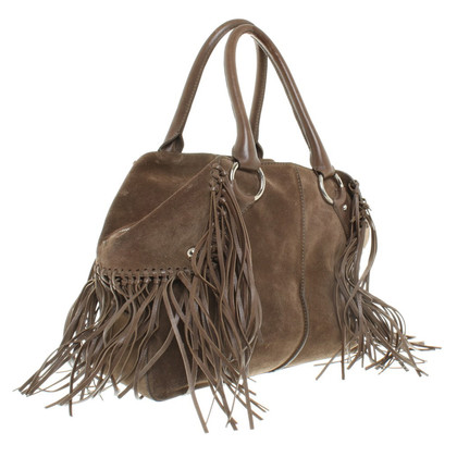 Tod's Suede bag with fringe