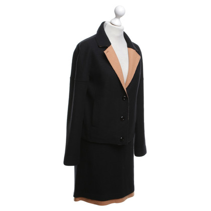 Marc Cain Costume in black / ocher