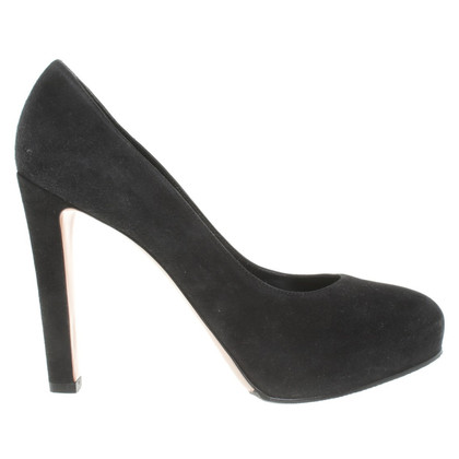 Gianvito Rossi Suede pumps in nero