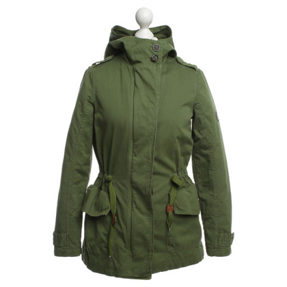 Closed Parka groen