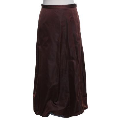best service b313c c8310 Kvinnors Striped Skirt Brown finns på PricePi.com.