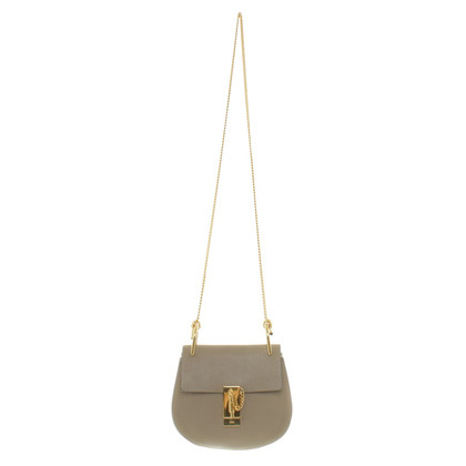 Chloé Leather shoulder bag in taupe