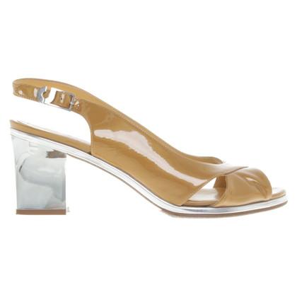 Jourdan Sandaletten aus Leder