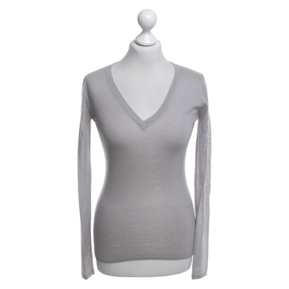 Dear Cashmere Thin cashmere sweater in grey