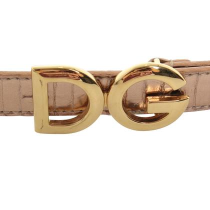 Dolce & Gabbana cinture di pelle