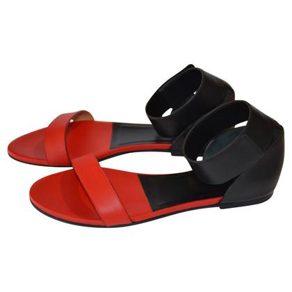 Chloé Sandali in rosso / nero