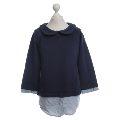 Semi Couture Sweatshirt in Blau