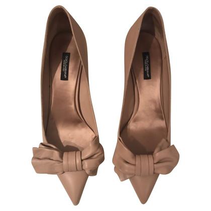 Dolce & Gabbana Dolce and Gabbana nude shoes