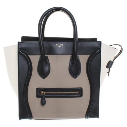 """Céline """"Mini bagagli Bag"""" in tricolore"""