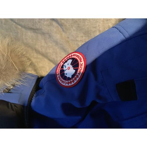 buy online 708cc d64da Canada Goose Giacca/Cappotto in Blu - Second hand Canada ...