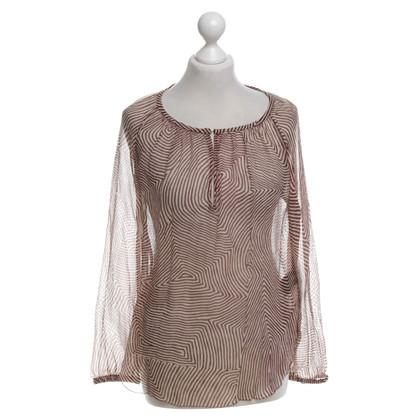 Isabel Marant Etoile zijden jurk met patroon