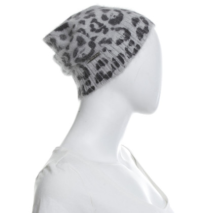 Michael Kors Mütze mit Animal-Muster