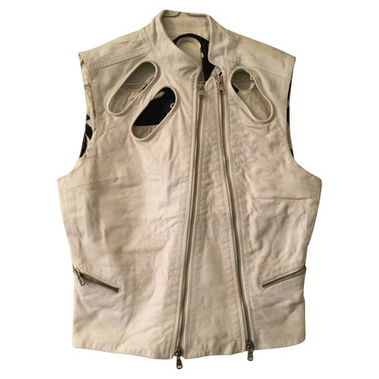 Ferre leather vest