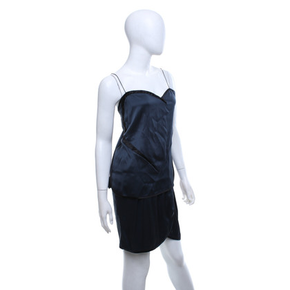 Marc Jacobs Top e gonna in blu scuro