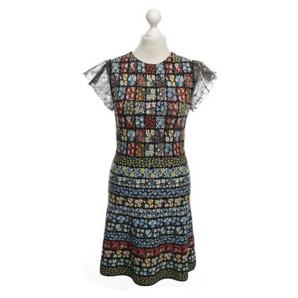 Valentino Kleid mit floralem Muster