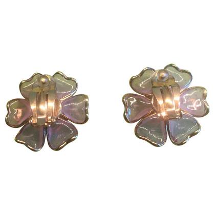 Chanel Oorbellen in de vorm van Camellia