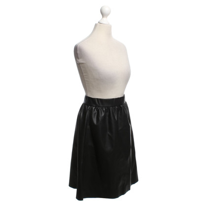 Wolford skirt in leather look