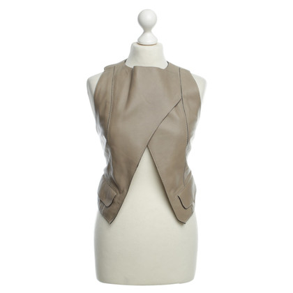Schumacher Leather jacket in Taupe