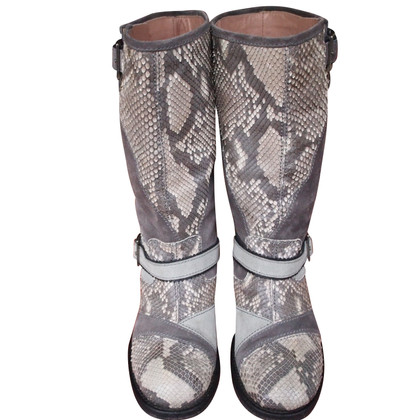 Missoni biker boots