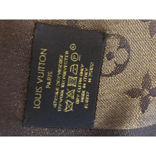 nuovo stile b1eb2 a4bf0 Louis Vuitton Sciarpa in Lana in Marrone - Second hand Louis ...