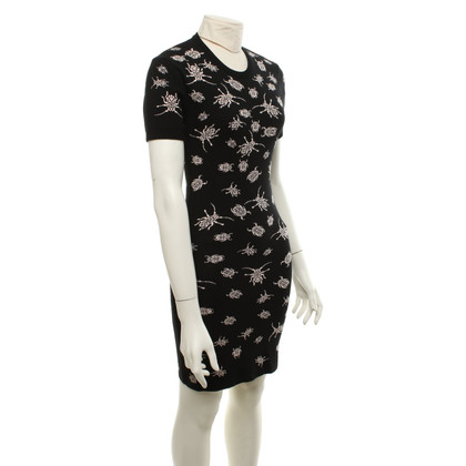 Alexander McQueen Knit dress with insect pattern