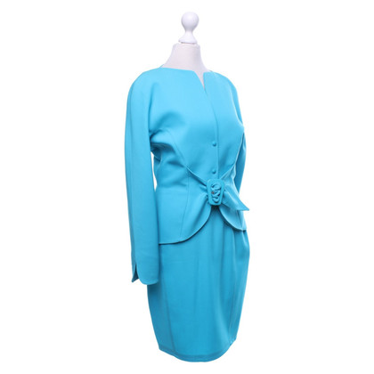 Mugler Costume in turquoise