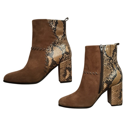 Kennel & Schmenger Ankle boots in snake leather look