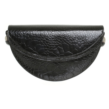 Versace Shoulder bag with reptile embossment