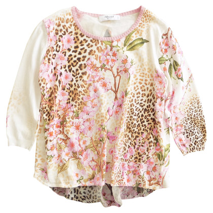 Blumarine top with a floral pattern