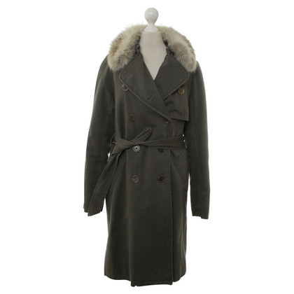 Yves Salomon Coat with fur trim