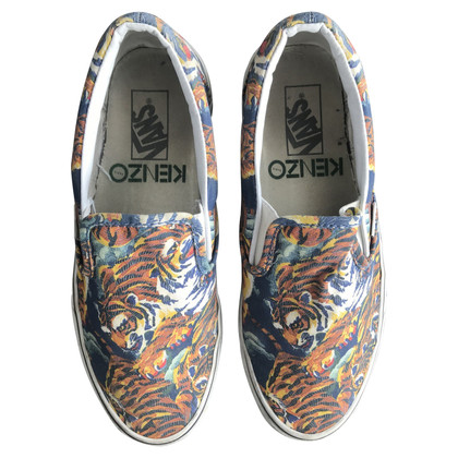 Kenzo Slip ons with pattern