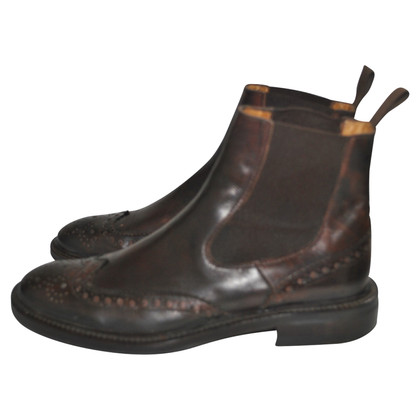 Max Mara Bottines en marron