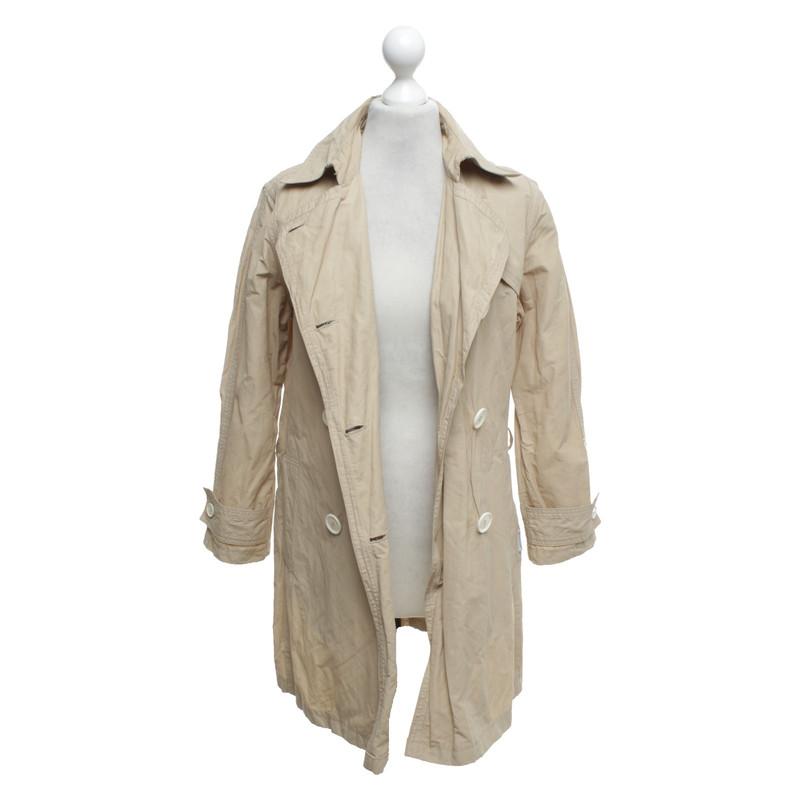 moncler mantel beige