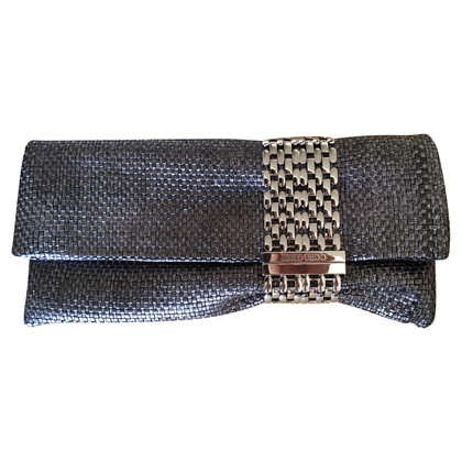 Jimmy Choo Clutch in Silber