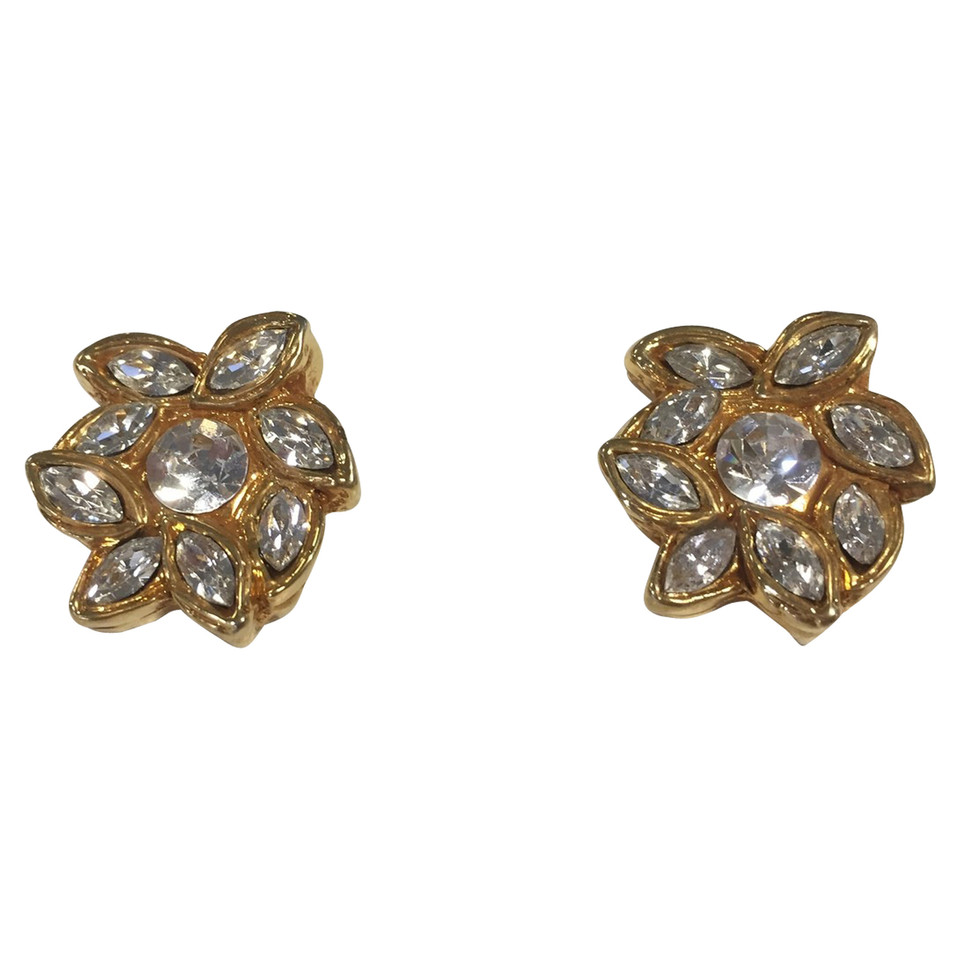 Christian Lacroix Ear clips with stones