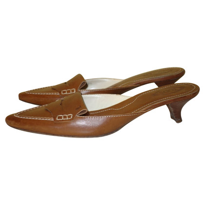 Tod's Mules in light brown