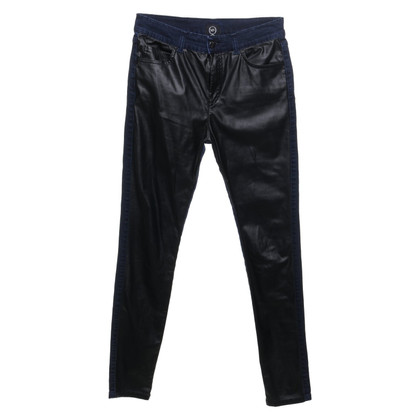 Alexander McQueen Jeans in leather look