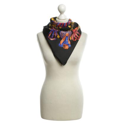 """Hermès silk carré scarf """"Les rubans du cheval"""""""