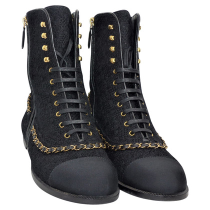 Chanel High Top Sneakers