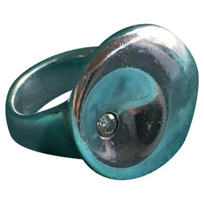 Tiffany & Co. ELSA Peretti ring with diamond
