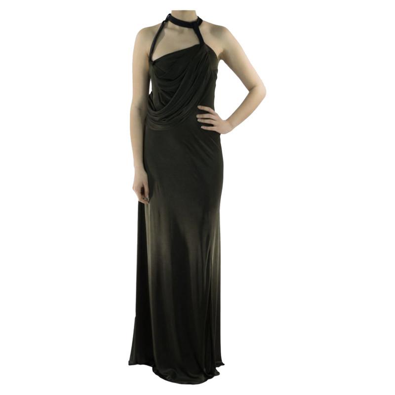 Balenciaga Dress in Khaki - Second Hand