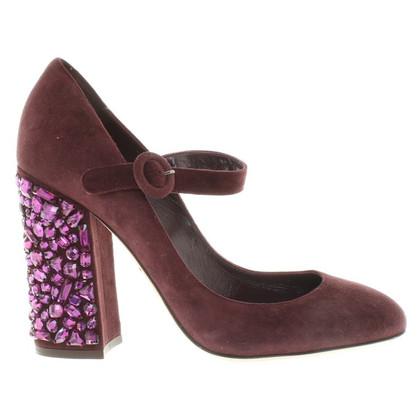Dolce & Gabbana pumps with precious stones