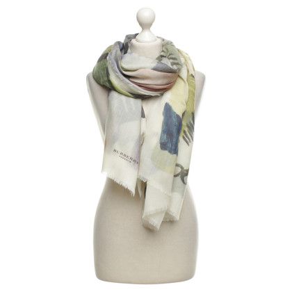 Burberry Prorsum Large scarf with print